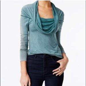 Free People | Cowl Neck, Long Sleeve Top